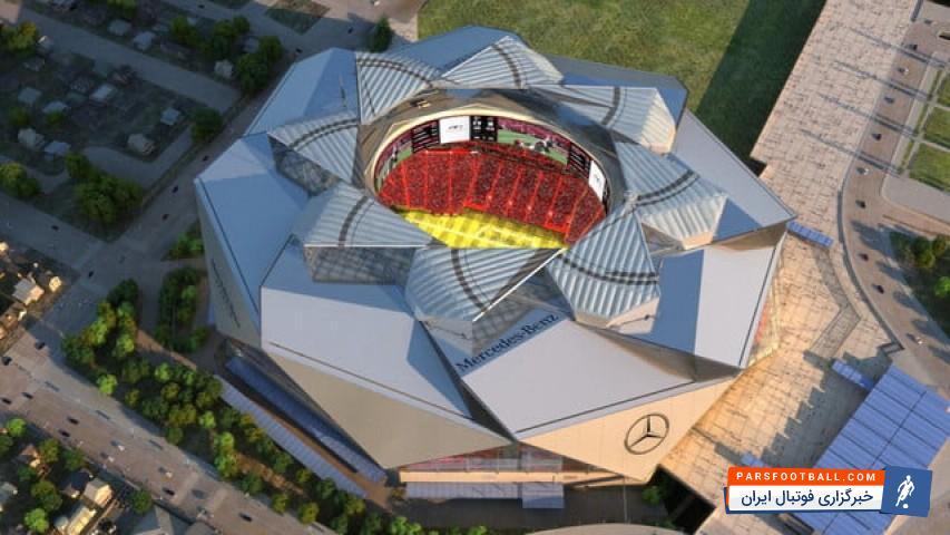 مرسدس بنز ؛ فیلم ؛ ورزشگاه مرسدس بنز آتلانتا مدرنترین ورزشگاه جهان ؛ پارس فوتبال