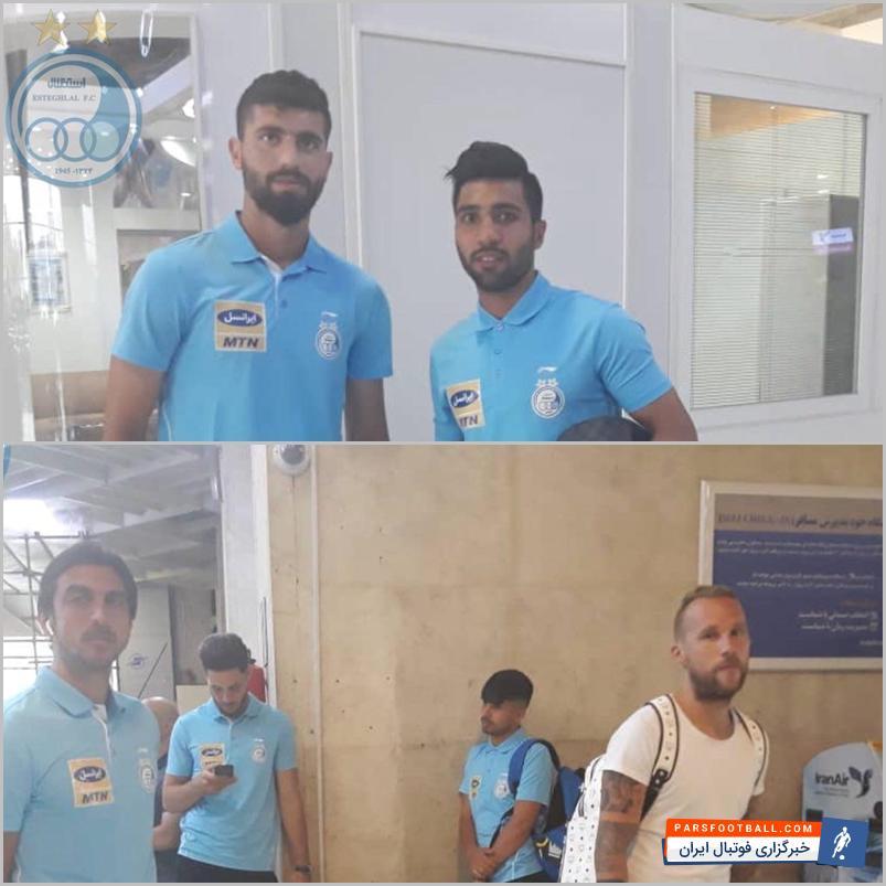 اعضای تیم استقلال از طریق فرودگاه مهر آباد تهران راهی اصفهان خواهند شد.