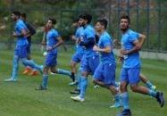 تمرینات استقلال برای دیدار هفته پنجم آبی پوشان با فولاد خوزستان پیگیری شد. از حواشی تمرین می توان به بازگشت حسینی و حضور دوباره جابر انصاری اشاره کرد.