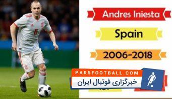 بازیکنانی که بعد جام جهانی از تیم ملی خداحافظی کردند