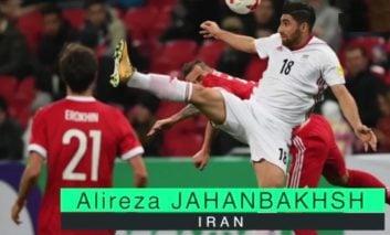 بهترین بازیکن تیم های ملی فوتبال با حضور جهانبخش