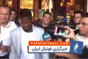 کیتا بالده ؛ کیتا بالده بعد از امضای قرارداد با اینتر ؛ خبرگزاری پارس فوتبال