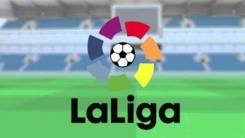 نشان قهرمانی در لالیگا بر روی پیراهن بارسلونا نشان قهرمانی در لالیگا بر روی پیراهن بارسلونا