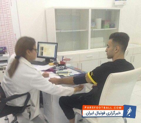 ارسلان مطهری در تست پزشکی تیم نادی صحم عمان شرکت کرد ؛ خبرگزاری فوتبال ایران