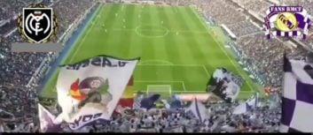 معروفترین شعار هواداران رئال مادرید در برنابئو