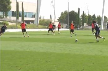 مارسلو ؛ سوپرگل مارسلو در تمرینات رئال مادرید با شوتی مهلک ؛ پارس فوتبال