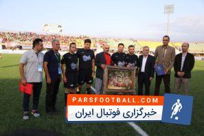 علیرضا فغانی ؛ تقدیر از علیرضا فغانی پیش از دیدار سپیدرود و پدیده در هفته چهارم لیگ برتر