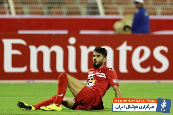 بشار رسن هافبک عراقی تیم فوتبال پرسپولیس در اردوی تیمش دچار مصدومیت شد