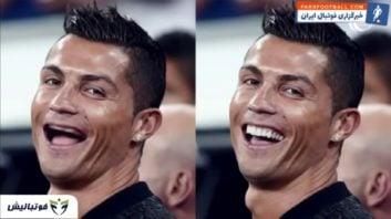 کلیپی از شوخی کاربران فضای مجازی با دندان ستاره های فوتبال