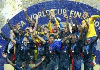قهرمانی قرانسه در جام جهانی