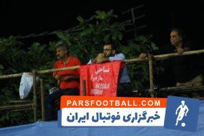 سبک جدید تماشای فوتبال توسط هواداران نساجی مقابل استقلال