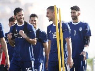 مجید حسینی با روحیه مضاعف در تمرین تیم ملی حضور پیدا کرد سید مجید حسینی با بخت و اقبال زیاد و داستانی که برای پژمان منتظری پیش آمد .