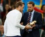 هری کین آقای گل جام جهانی 2018 است هری کین پیش از آغاز دیدار تیم ملی انگلیس مقابل اسپانیا، از کفش طلای خود رونمایی کرد.