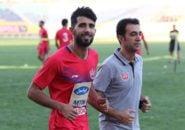 بشار رسن هافبک تهاجمی تیم پرسپولیس در دیدار تیم های عراق و کویت از ناحیه مچ پا مصدوم شد بشار رسن با همین مصدومیت به ایران آمد.