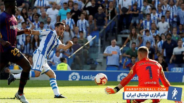 عکس ؛ فرار بارسا از جهنم آنوئتا ؛ وقتی ورق برگشت | خبرگزاری فوتبال ایران | ParsFootball