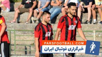 عملکرد علی قربانی در اولین بازی برای اسپارتاک