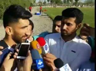 بیرانوند ؛ مصاحبه با علیرضا بیرانوند تنها نماینده پرسپولیس در اردوی تیم ملی