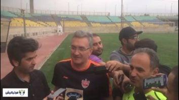 برانکو ؛ نظر برانکو درباره کامبک پرسپولیس برابر الدحیل و صعود به نیمه نهایی لیگ قهرمانان