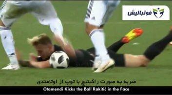 فوتبال ؛ رفتار های زشت و حرکات ناپسنداز ستاره های فوتبال در جهان