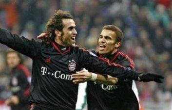 اولین گل علی کریمی در لیگ قهرمانان اروپا با پیراهن بایرن مونیخ به راپیدوین اتریش