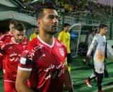 مسعود شجاعی بعد از اینکه یک خط جلوتر رفت توانست بازی های خوبی به نمایش بگذارد
