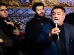 پیروانی ؛ فیلم ؛ مداحی زیبای غلامحسین پیروانی در محرم 97