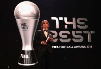 لوکا مودریچ ؛ بازیکن سال فوتبال جهان در سال 2018