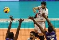 خلاصه بازی والیبال ایران 3 - کوبا 1 در مسابقات والیبال قهرمانی جهان 2018