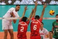 خلاصه بازی والیبال بلغارستان - ایران در رقابت های والیبال قهرمانی جهان 2018