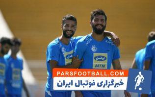 استقلال ؛ گل محمد دانشگر از استقلال به تیم فوتبال سایپا در دقیقه 23 بازی