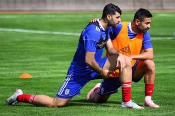 مهدی طارمی و امید ابراهیمی دو لژیونر ایرانی شاغل در لیگ ستارگان قطر هستند مهدی طارمی و امید ابراهیمی در شرایط خوبی به تمرینات تیم ملی آمدهاند.