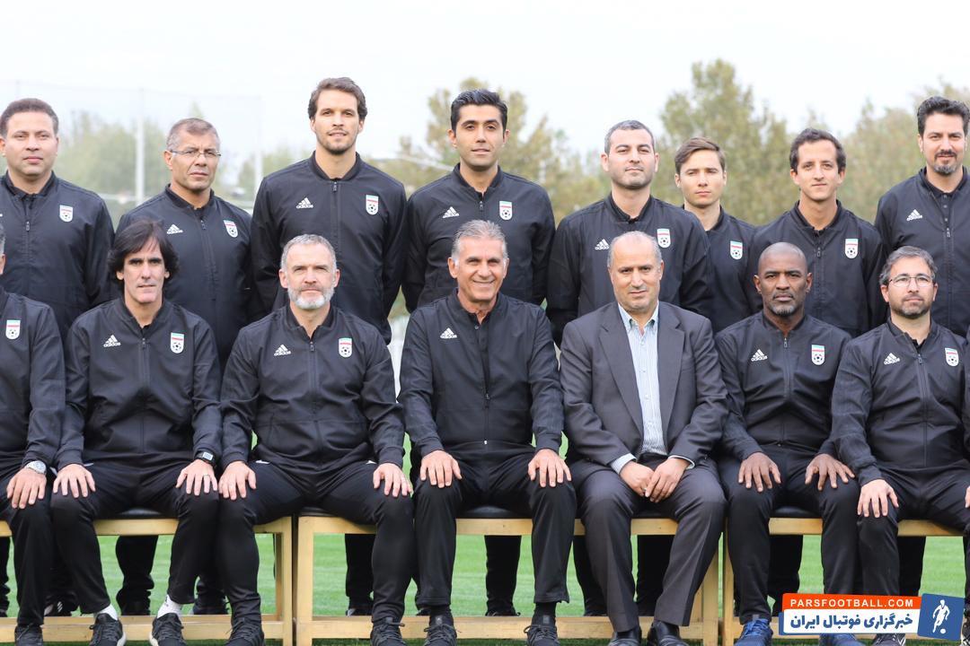 کی روش سرمربی تیم ملی فوتبال ایران است کی روش در تمرینات اخیر تیم ملی و در عکس های منتشر شده لوگوی فدراسیون فوتبال را روی لباسش ندارد.