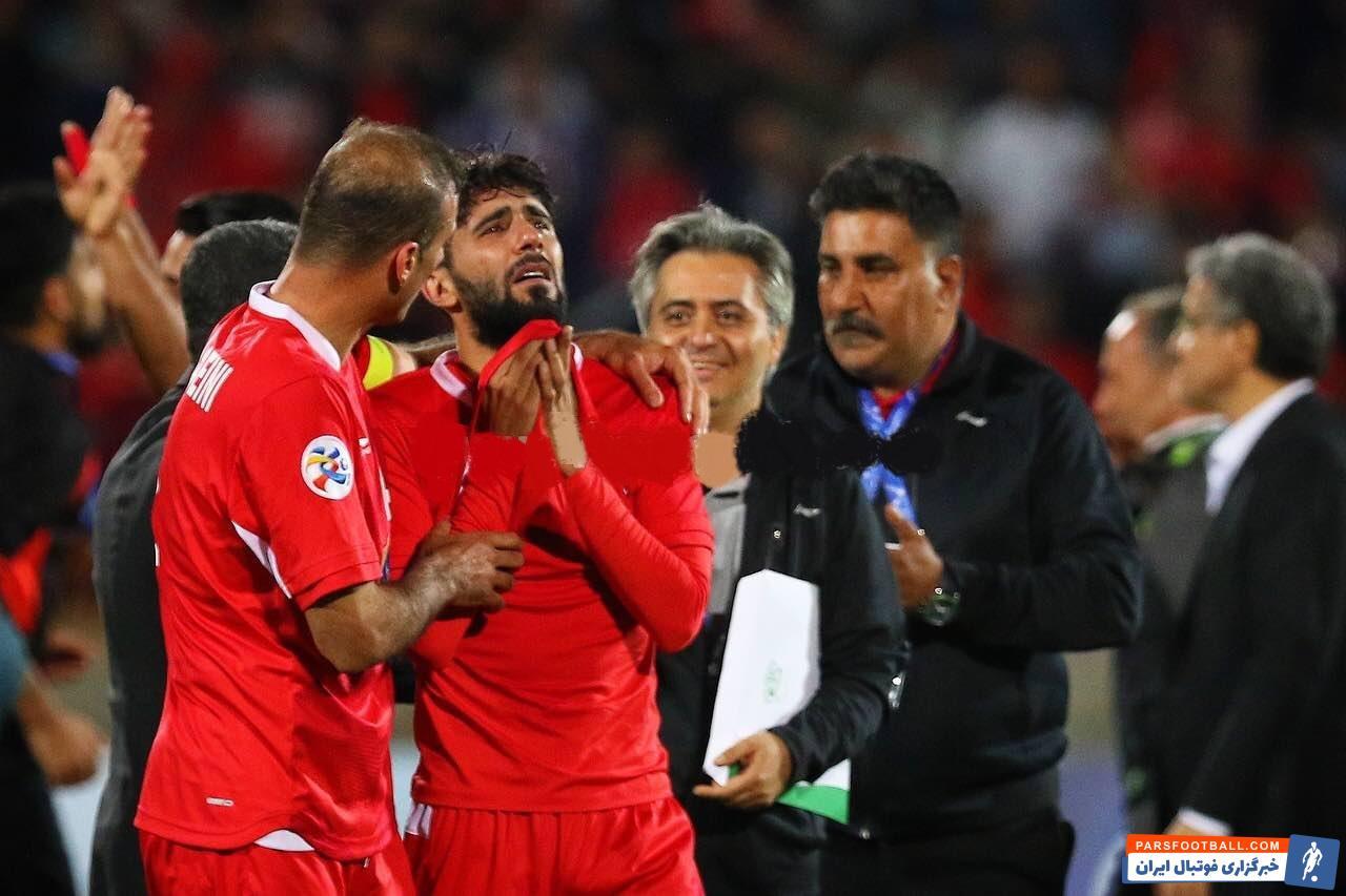 بشار رسن هافبک عراقی پرسپولیس است بشار رسن در جریان شادی همتیمیهایش بعد از بازی مقابل السد، با چشمانی اشکبار زمین را ترک کرد.