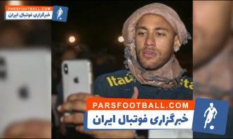 نیمار ؛ خوش گذرانی نیمار و همی تیمی هایش در کشور عربستان سعودی
