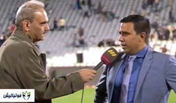 جواد خیابانی ؛ مصاحبه جالب جواد خیابانی با سرمربی تیم ملی بولیوی به زبان انگلیسی