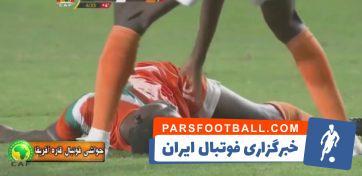 نجات جان بازیکن تیم ملی نیجر توسط پزشک تیم تونس