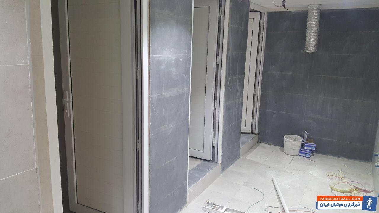 کشف 6 واحد سرویس بهداشتی جدید در تعمیران استادیوم آزادی