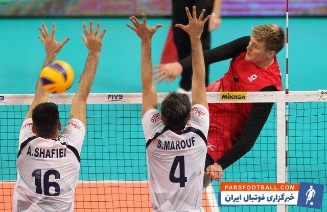 تیم ملی والیبال ایران - تیم ملی والیبال کانادا