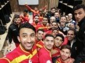 فولاد خوزستان در موفق شد پیکان را شکست دهد بازیکنان فولاد خوزستان بعد از مدتها یک پیروزی در لیگ به دست آوردند و پس از آن در رختکن سلفی گرفتند.