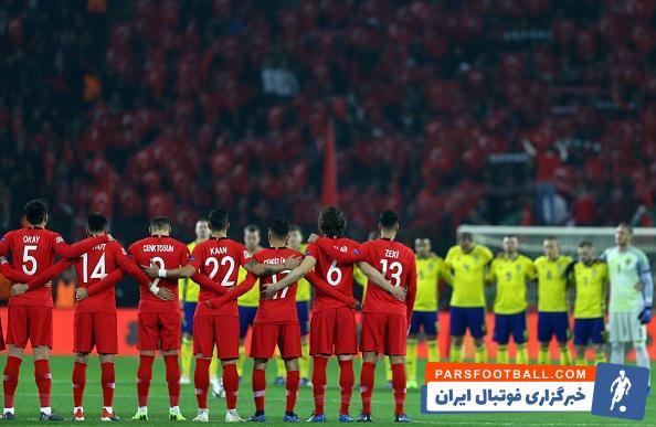 ترکیه ؛ سقوط تیم ملی ترکیه به سطح سوم رقابت های لیگ ملت های اروپا