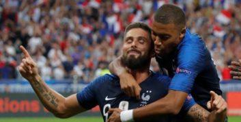 ژیرو با گلزنی برابر اروگوئه به رده بندی برترین گلزنان تیم فرانسه وارد شد