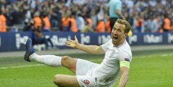 هری کین با به ثمر رساندن دو گل در برابر کرواسی باعث صعود تیمش شد