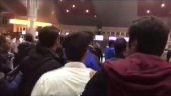 درگیری بازیکنان استقلال و هواداران در فرودگاه تبریز