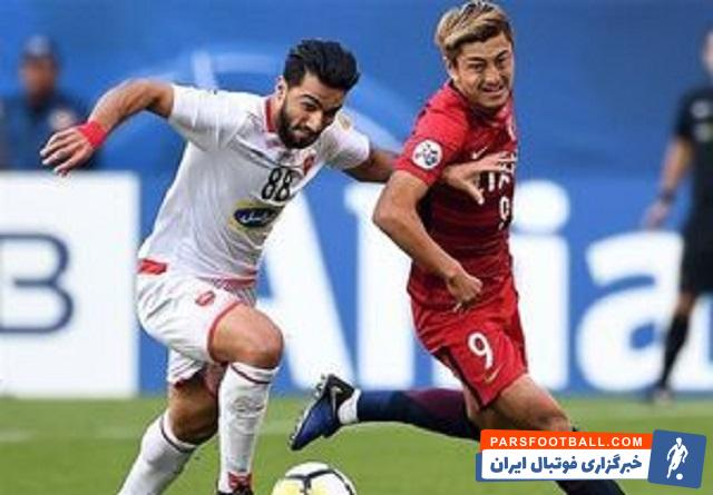 پرسپولیس - گادوین منشا - لیگ قهرمانان آسیا - کاشیما آنتلرز