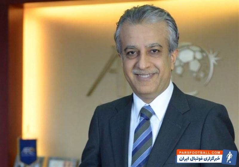 رئیس کنفدراسیون فوتبال - شیخ سلمان