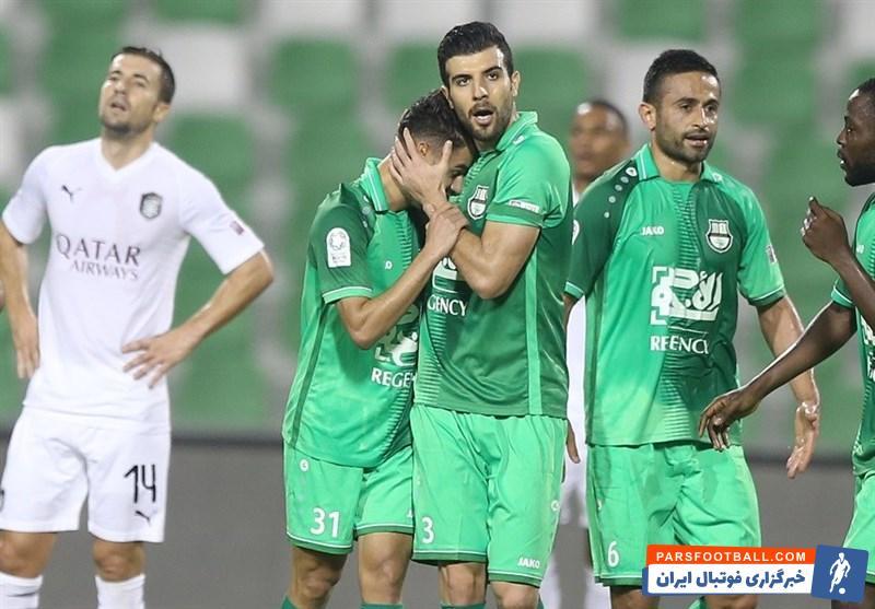 الاهلی قطر - امید ابراهیمی