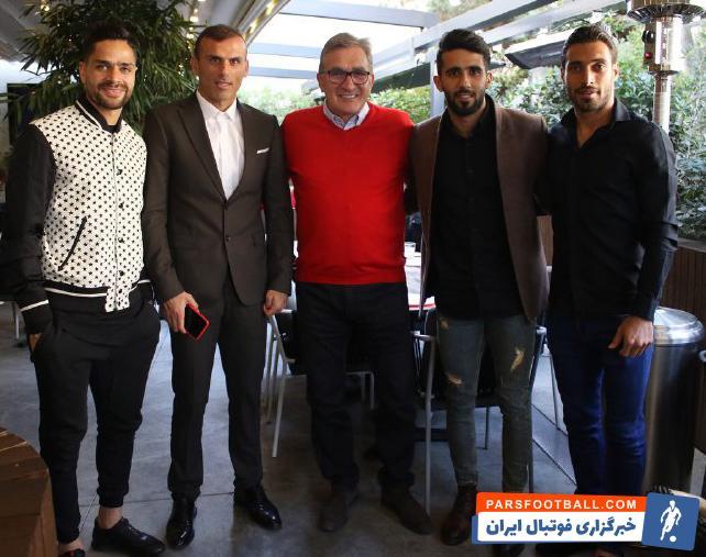 برنامه ویژه باشگاه پرسولیس پس از حضور جز سه تیم لیگ برتر