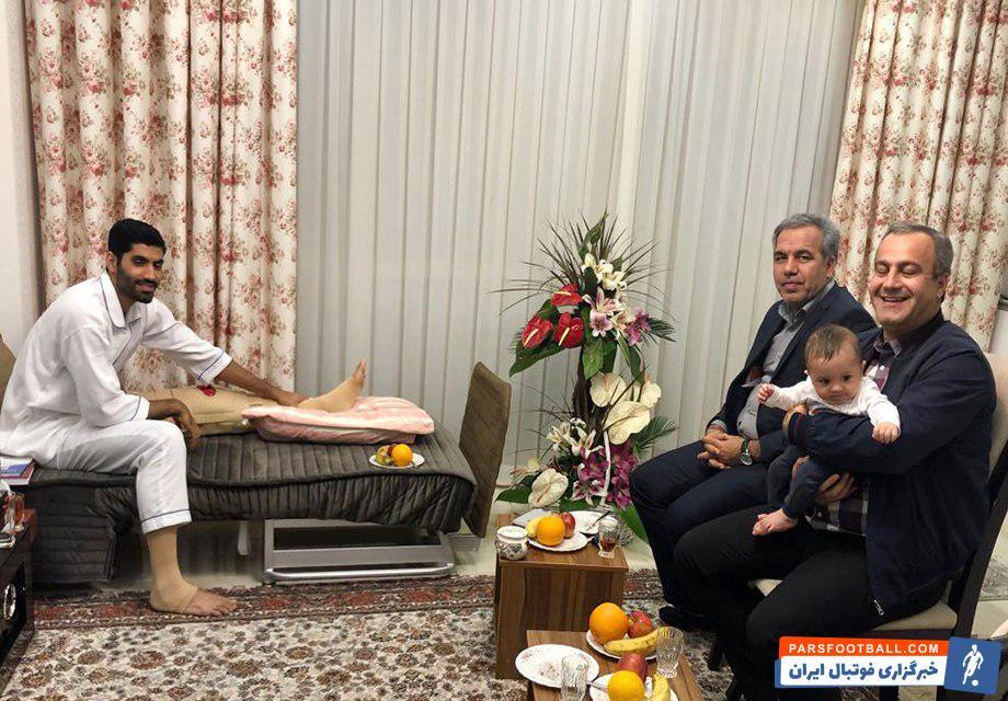 محمد انصاری در دیدار فینال لیگ قهرمانان آسیا با مصدومیت پارگی رباط صلیبی مواجه شده بود محمد انصاری ابتدای هفته با حضور در بیمارستان  تحت عمل جراحی قرار گرفت.