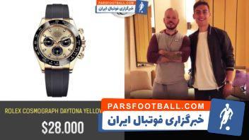 فوتبال ؛ نگاهی به ساعت مچی های گران قیمت مسی ، کوتینیو و ستاره های مطرح فوتبال