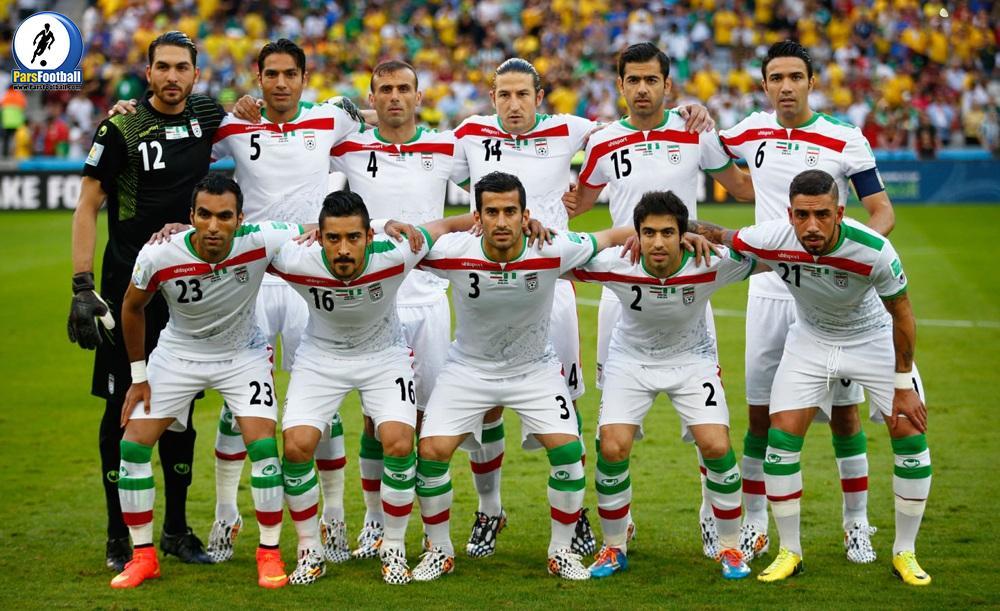 لیست تیم ملی فوتبال ایران